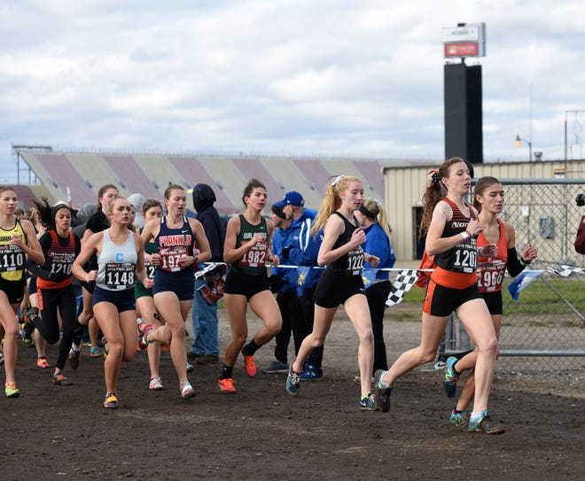 Michigan International Speedway has hosted the state cross country meet since 1996.