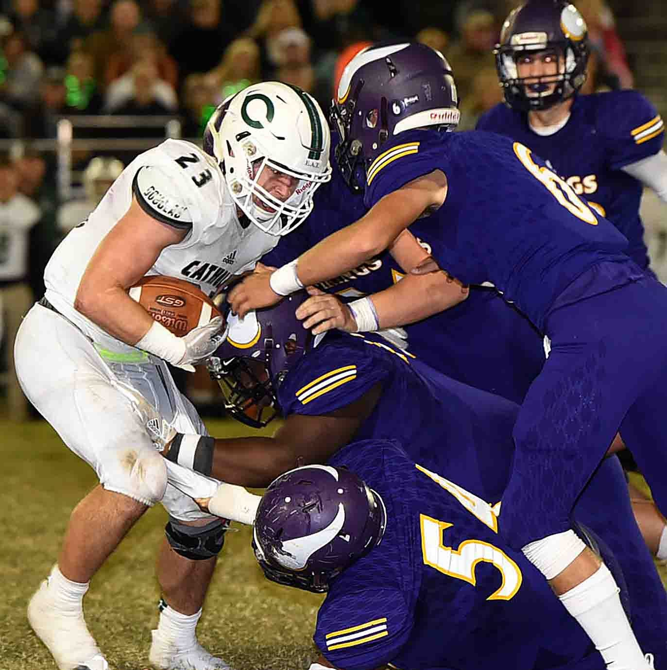 Defense comes through again for Opelousas Catholic in shutout to win district
