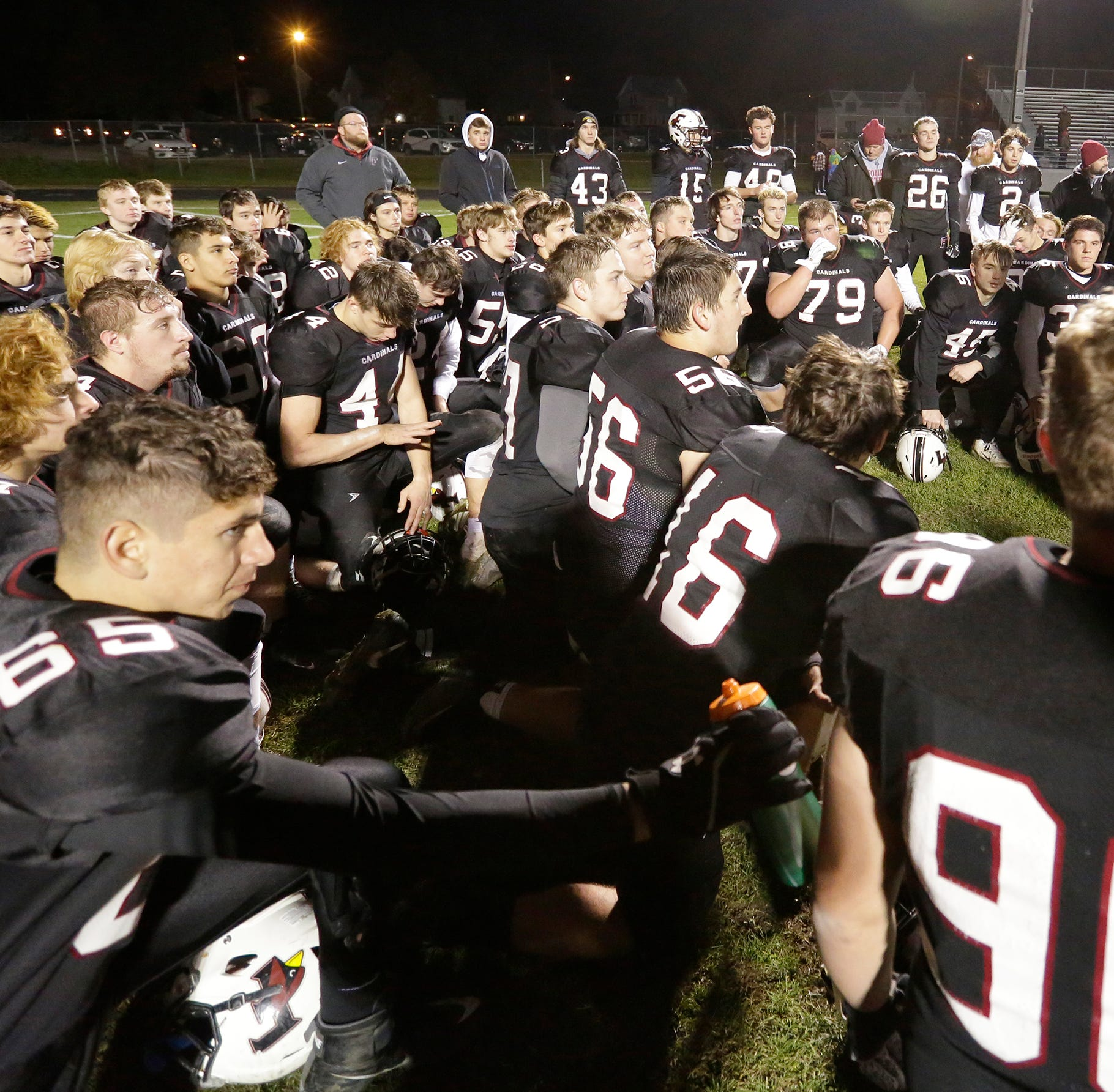 WIAA football: Top-ranked St. Mary's Springs, Fond du Lac move on in playoffs