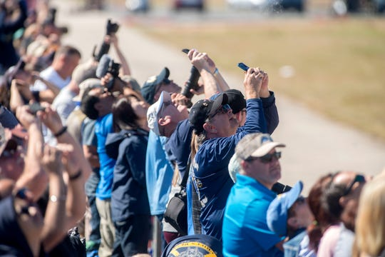 Thousands of fans enjoy the 2018 Blue Angels Homecoming Air Show at Naval Air Station Pensacola. The annual air show returns this weekend.