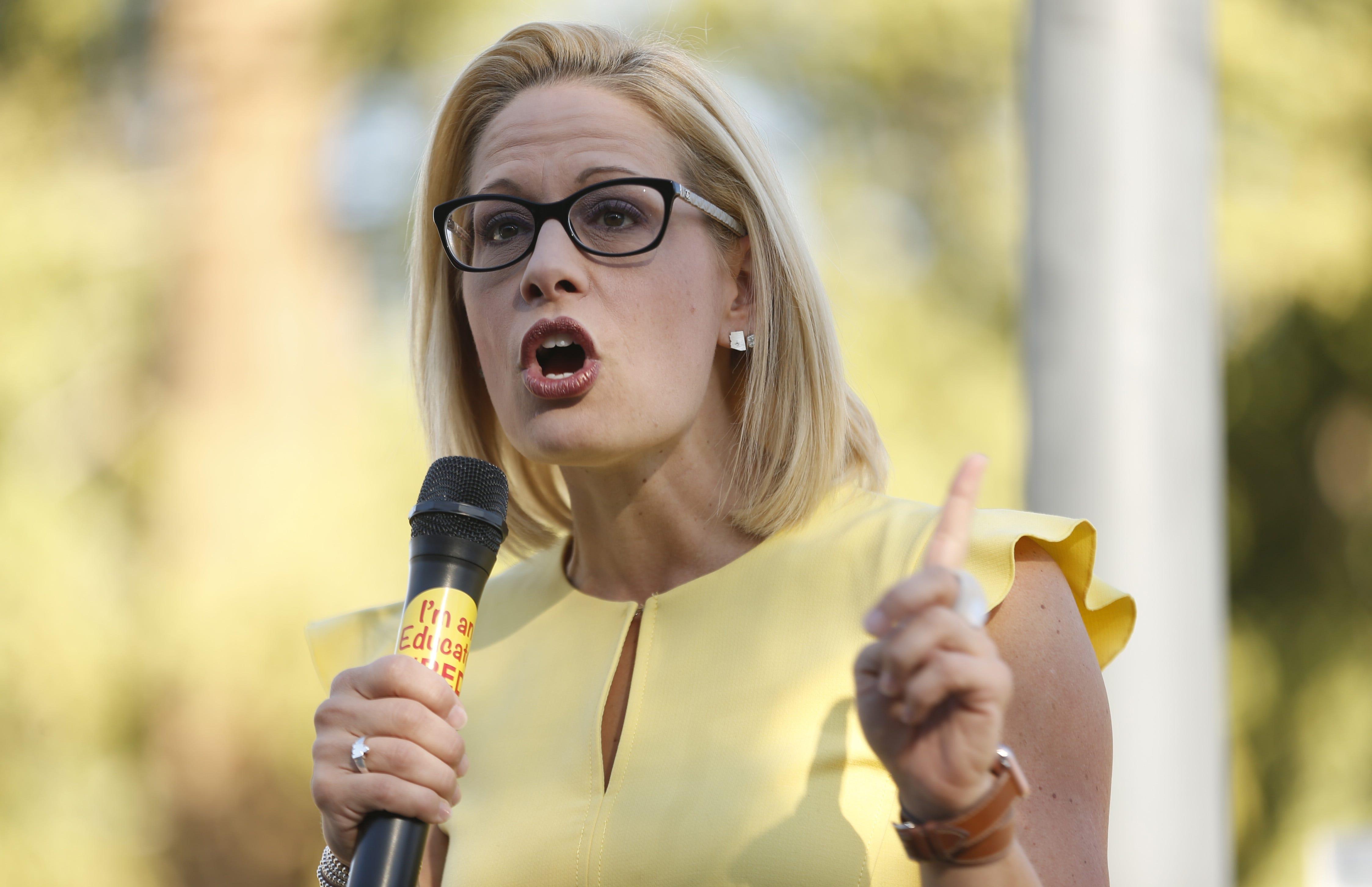 Martha McSally concedes to Kyrsten Sinema after 'hard-fought battle' | AZ Central