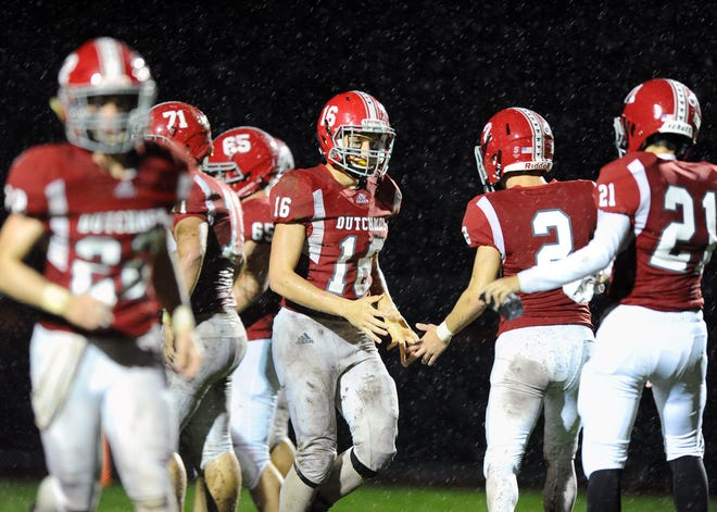 A-C QB Jeremy Bours (16) will lead the Dutchmen into Friday night's season opener at Milton Hershey.