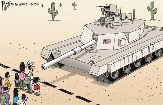 Editorial Cartoon For Monday Nov 5