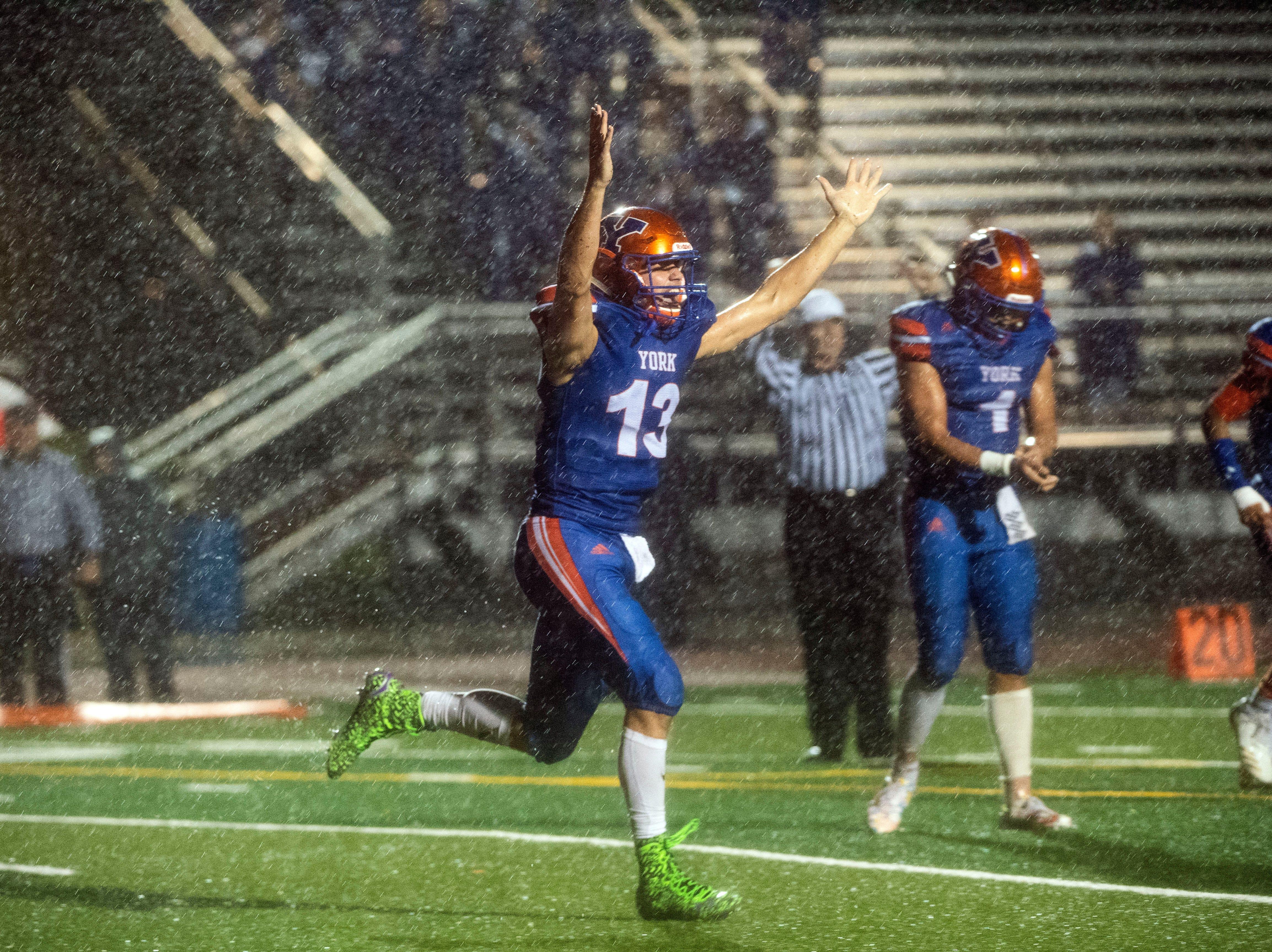Live updates: District 3 playoff high school football, Nov. 9