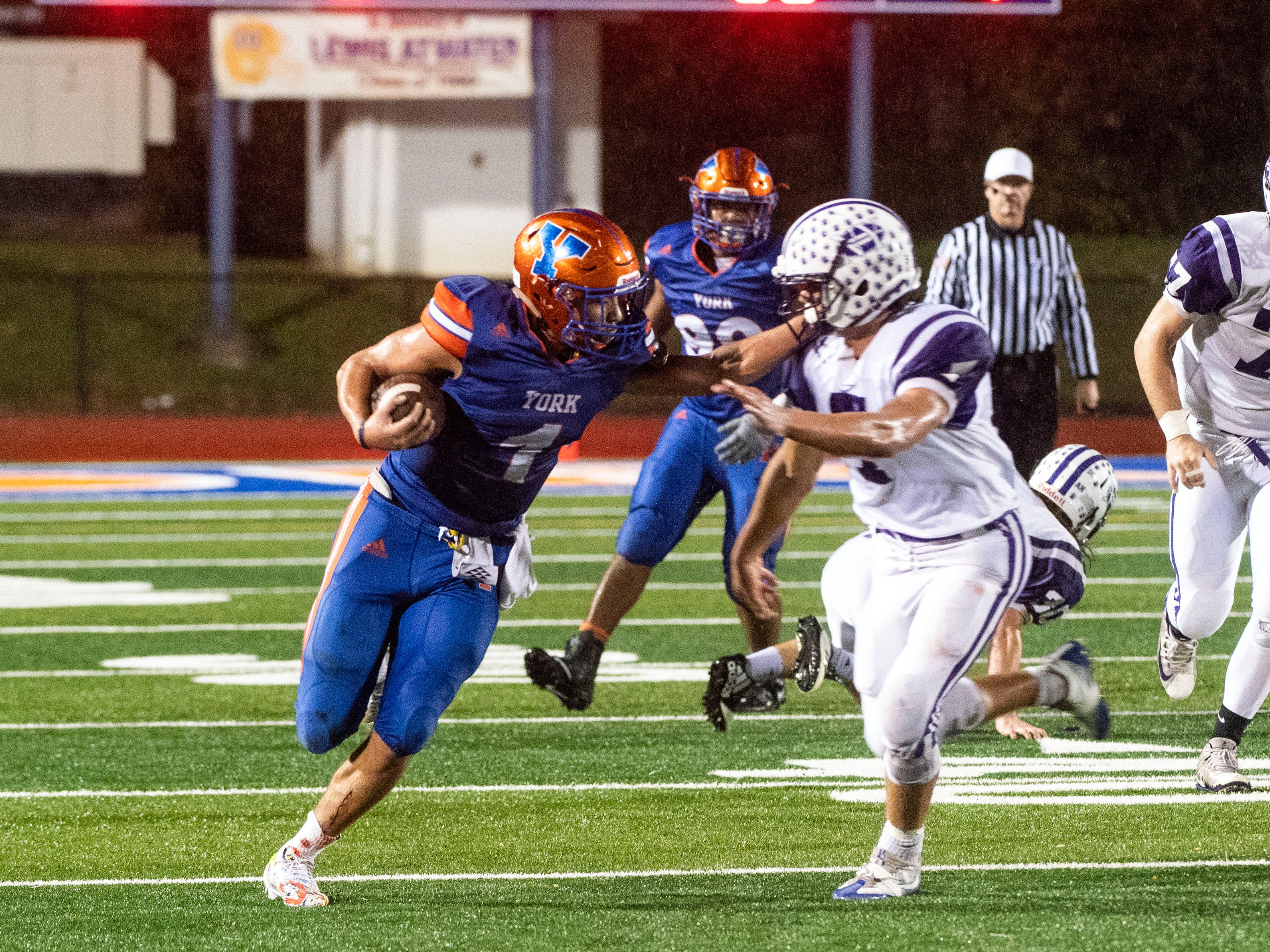 York High's Dayjure Stewart breaks District 3 rushing record in win over Northern