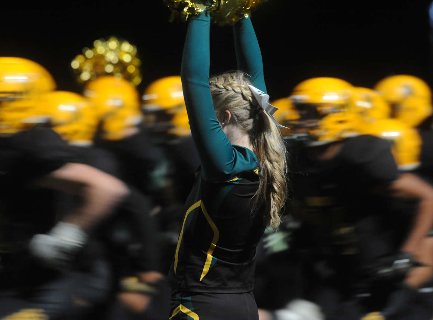Bishop Manogue takes on Reno during their playoff football game at Manogue on Nov. 2, 2018.
