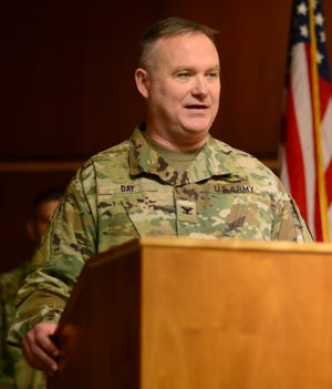 Oregon Army National Guard Col. Gregory Day is scheduled to be promoted to the rank of brigadier general Sunday.
