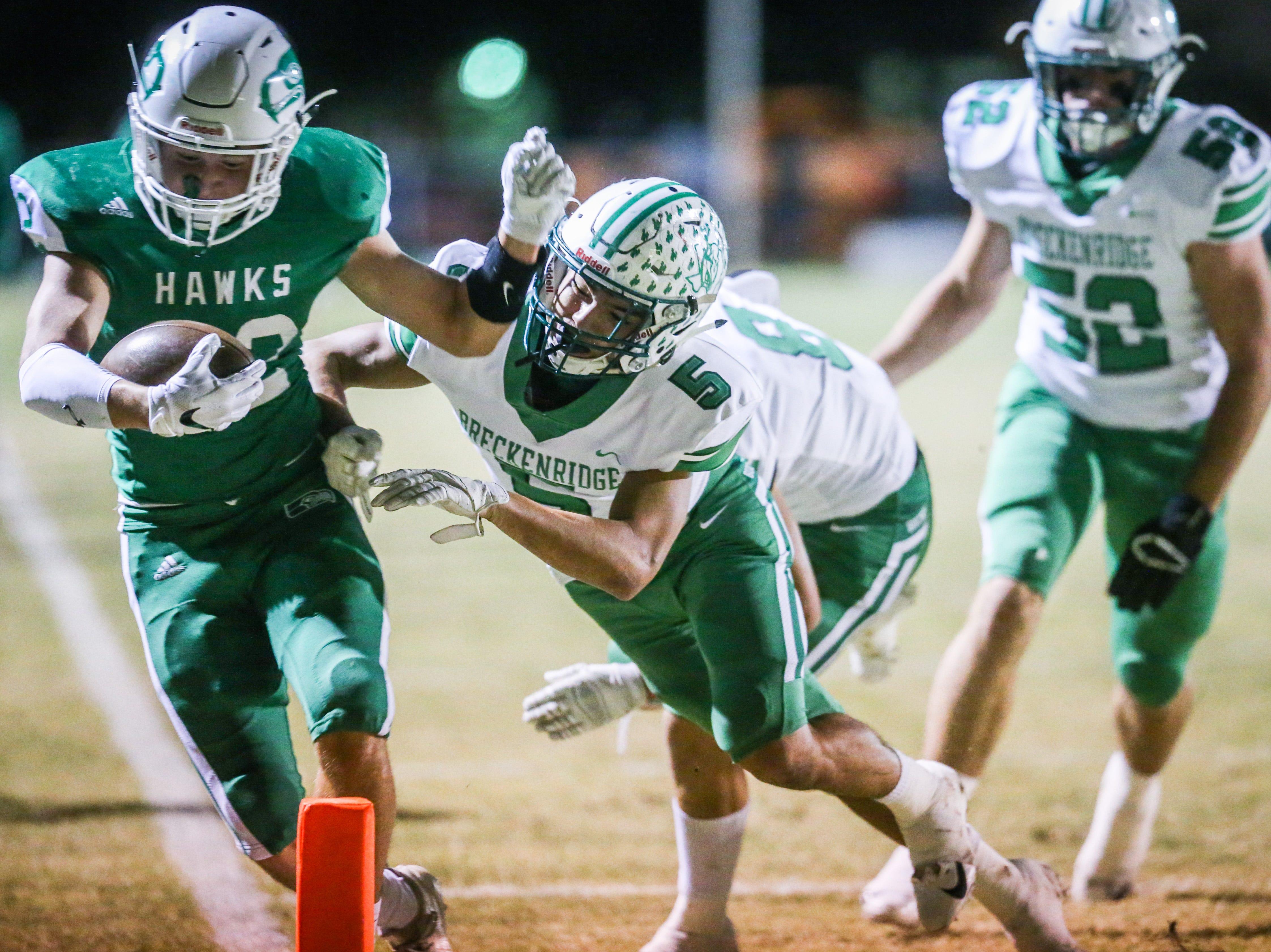 West Texas high school football playoff pairings