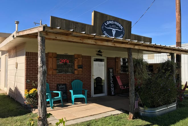 Longhorn Coffee Co. roasts coffee in house at 4465 Christoval Road in San Angelo
