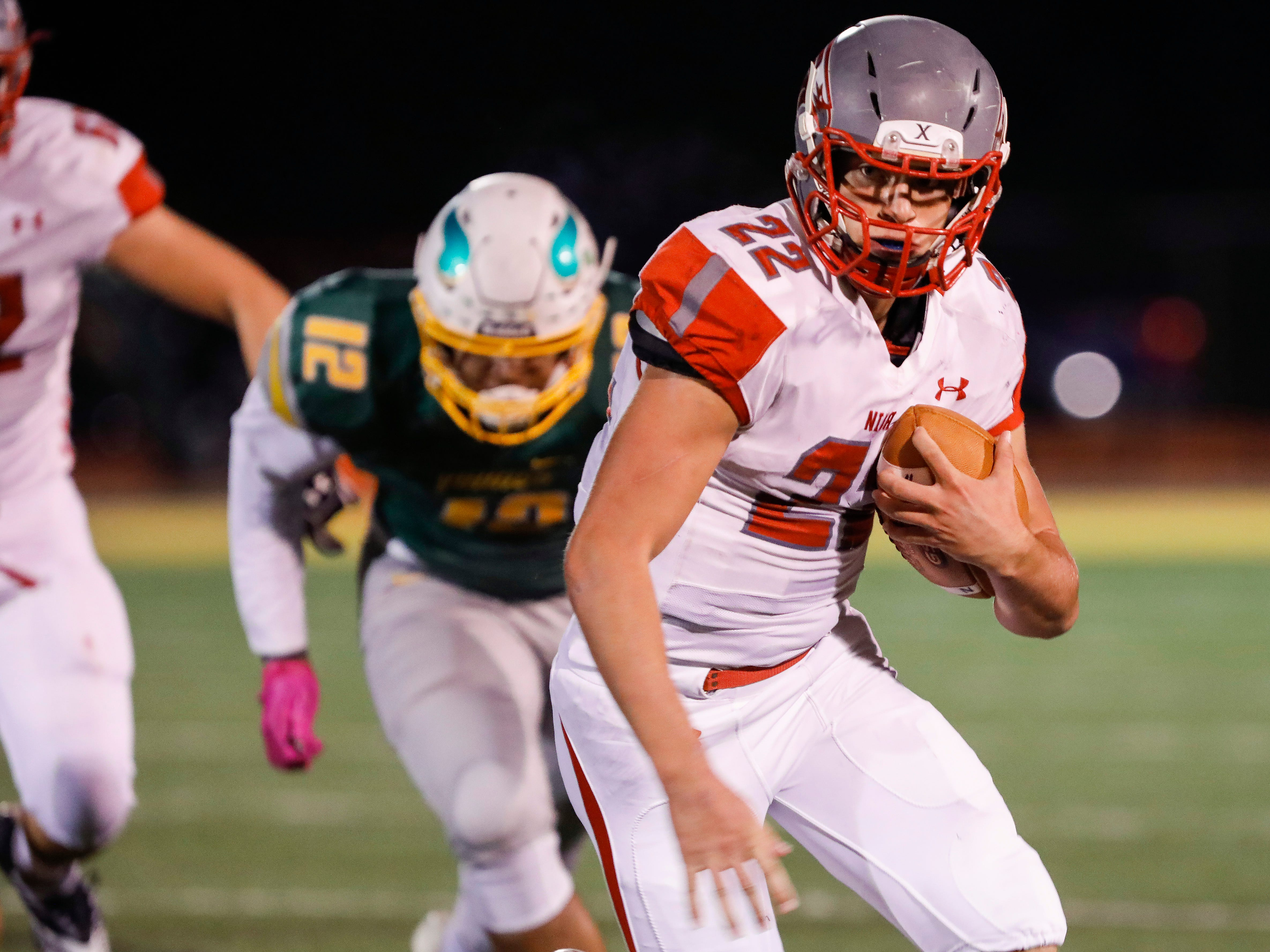 The Parkview Vikings defeated the Nixa Eagles 42-41 in overtime at JFK Stadium on Friday, Nov. 2, 2018.