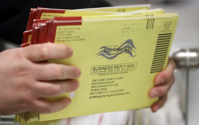 Due to COVID-19, the 2020 Utah Primary on June 30th will be conducted by mail-in only, and no in-person voting will be available.