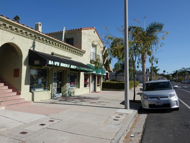 Sams Smoke Shop on east Main Street in Ventura.
