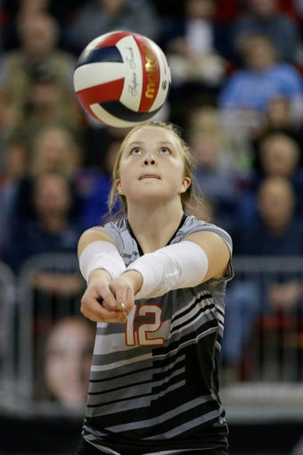 The Tigers fell to defending champion Lake Country Lutheran in five sets in a WIAA state championship volleyball game Saturday at the Resch Center.