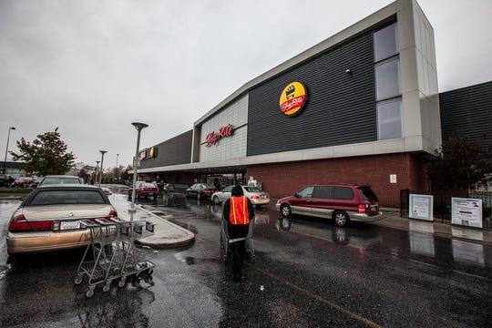 The ShopRite on South Market Street in Wilmington does a brisk business on a Sunday in October, 2012.