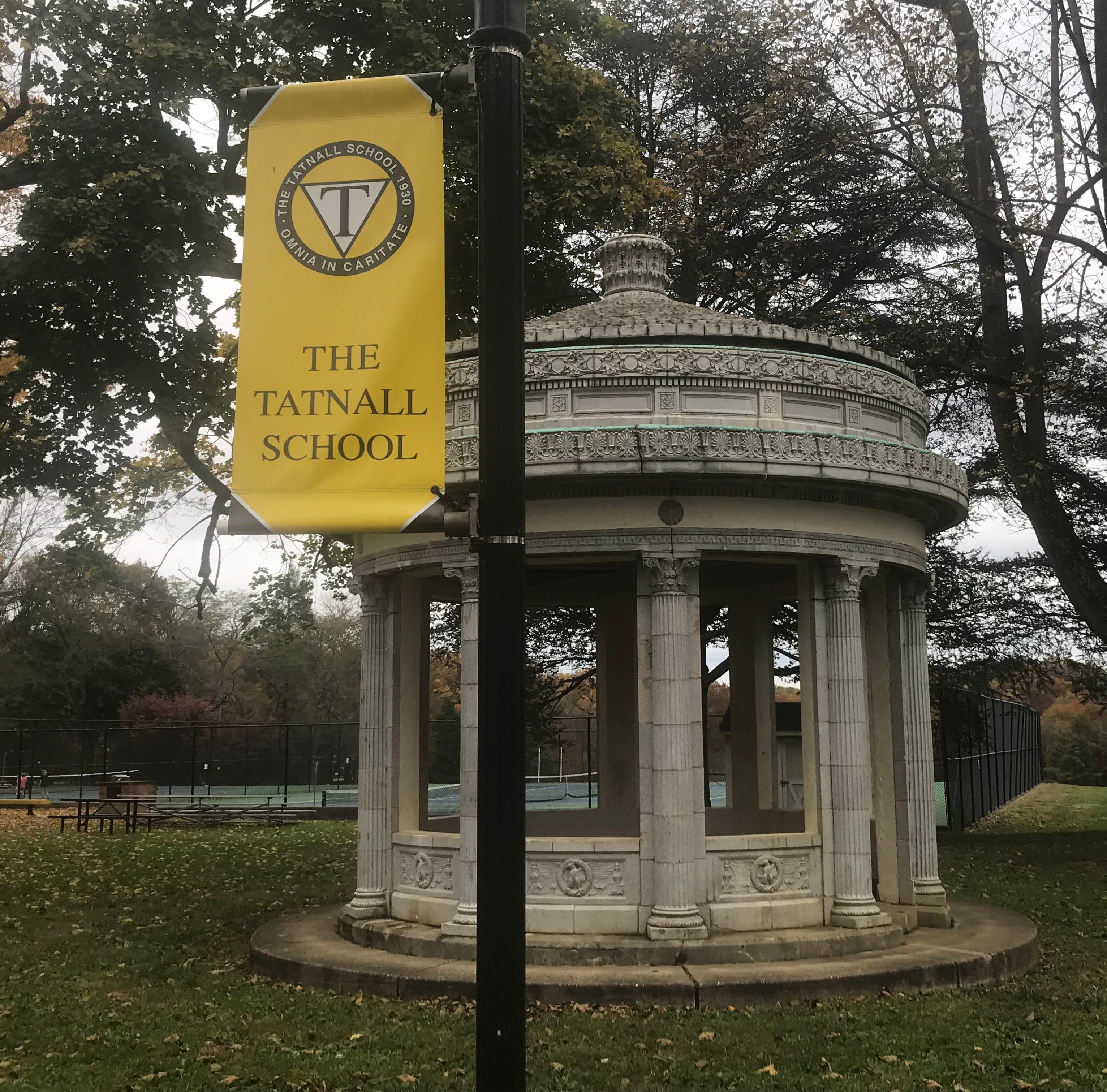 Greek monument at Tatnall was once a 1920s Wilmington gas station
