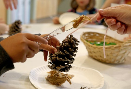 Children ages 6 to 12 years old can make bird feeders at the Wilson Nature Center on Dec. 2.