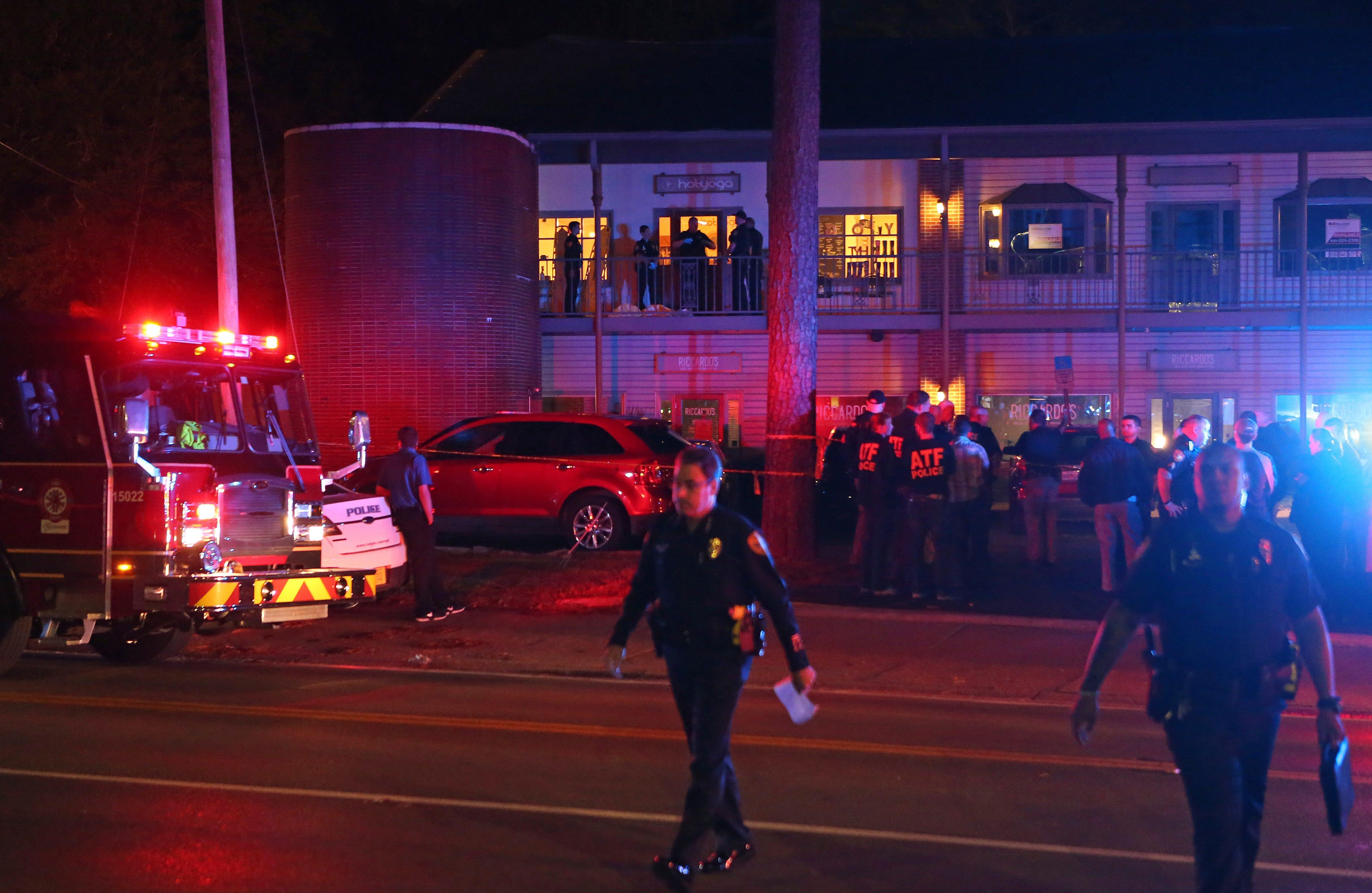 Yoga studio gunman planned 'horrific event' for months, police say