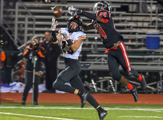 Waverly's Easton Wolf won the district's division IV offensive player of the year in 2018 as he was one of the Tigers' top weapons.