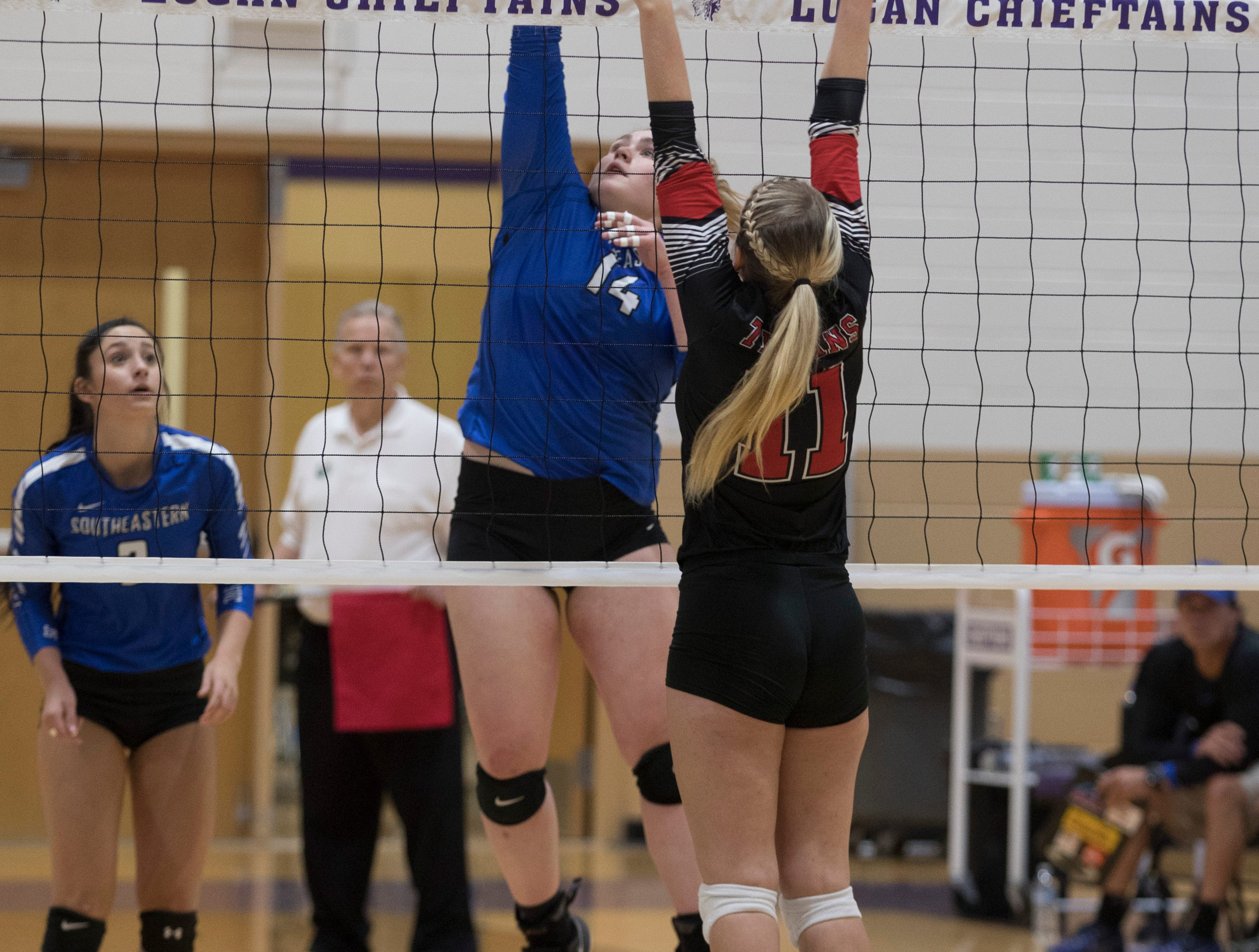 The Southeastern Panthers fell to Tuscarawas Valley 3-1 Saturday afternoon at Logan High School during a Division III volleyball regional final.