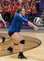 Southeastern volleyball's Skylar Hice earned All-Ohio second team honors on Monday.