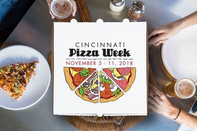 Cincinnati Pizza Week runs Nov. 5-11.