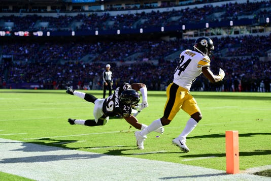 Nfl Pittsburgh Steelers At Baltimore Ravens