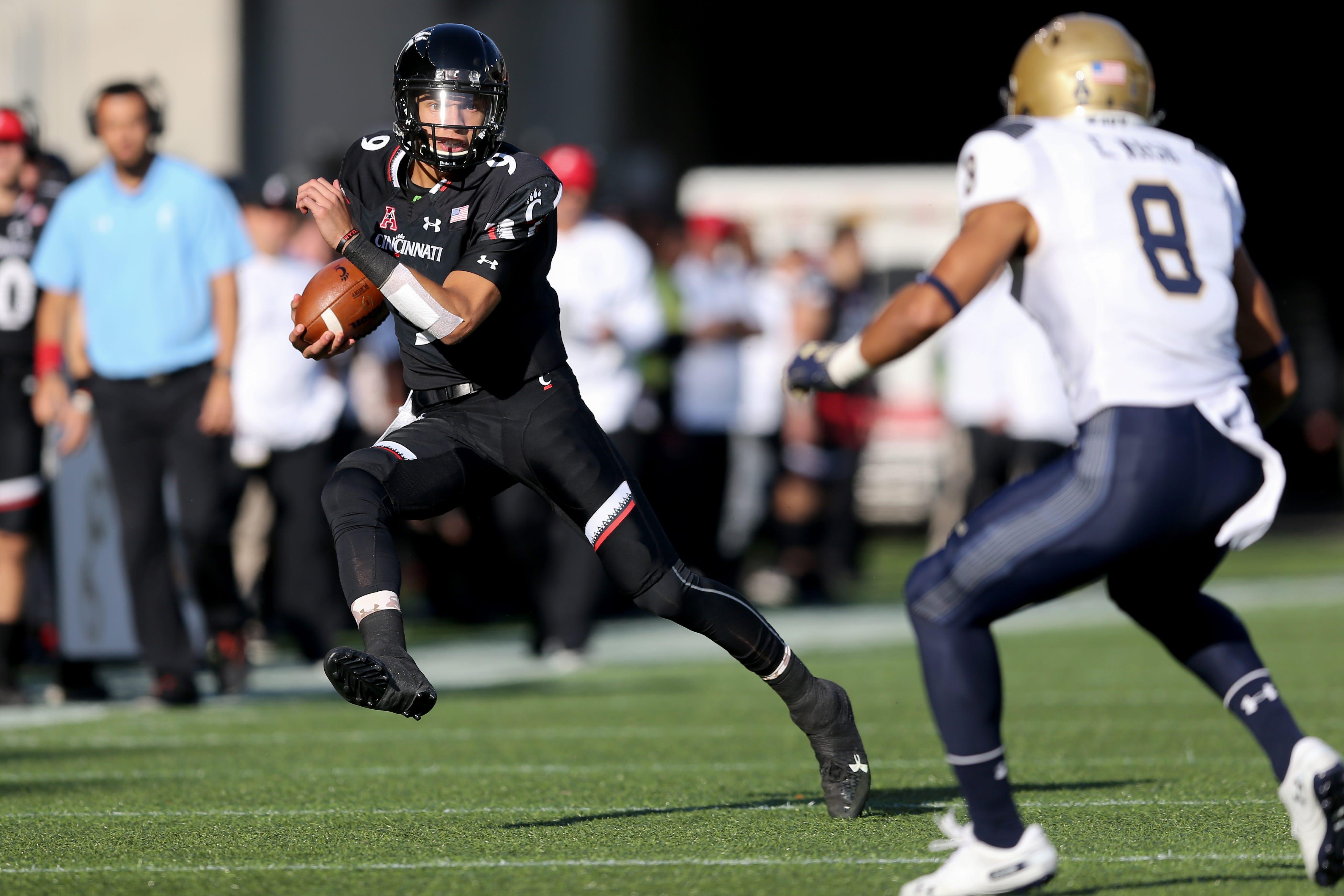 Three keys, prediction: No. 2/3 Cincinnati Bearcats look to capture first-ever win at Navy