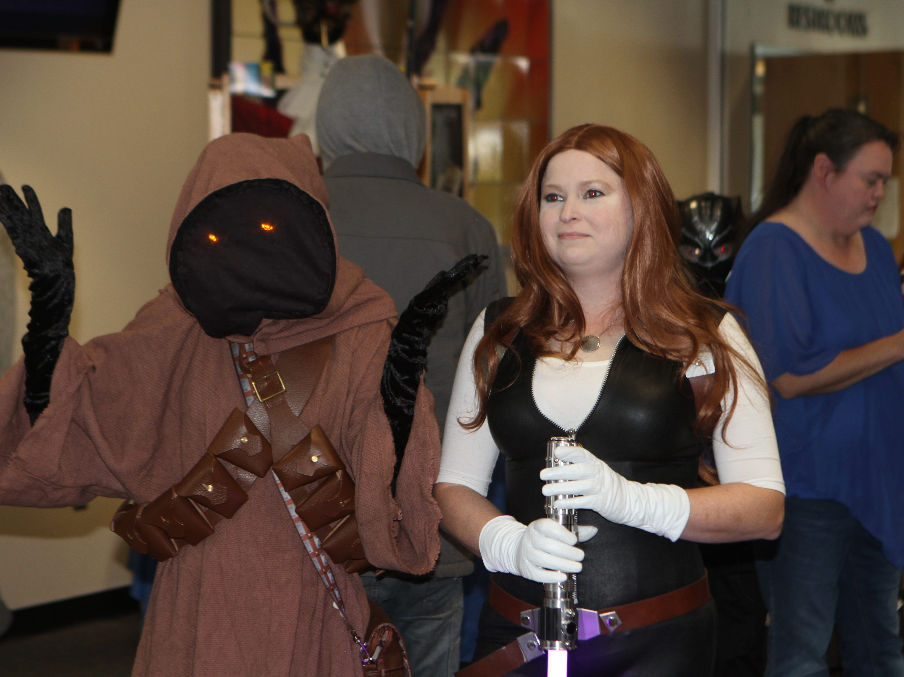 Hundreds came out to enjoy CMC Public Library's annual Sci-Fi Expo on Saturday, November 3, 2018.