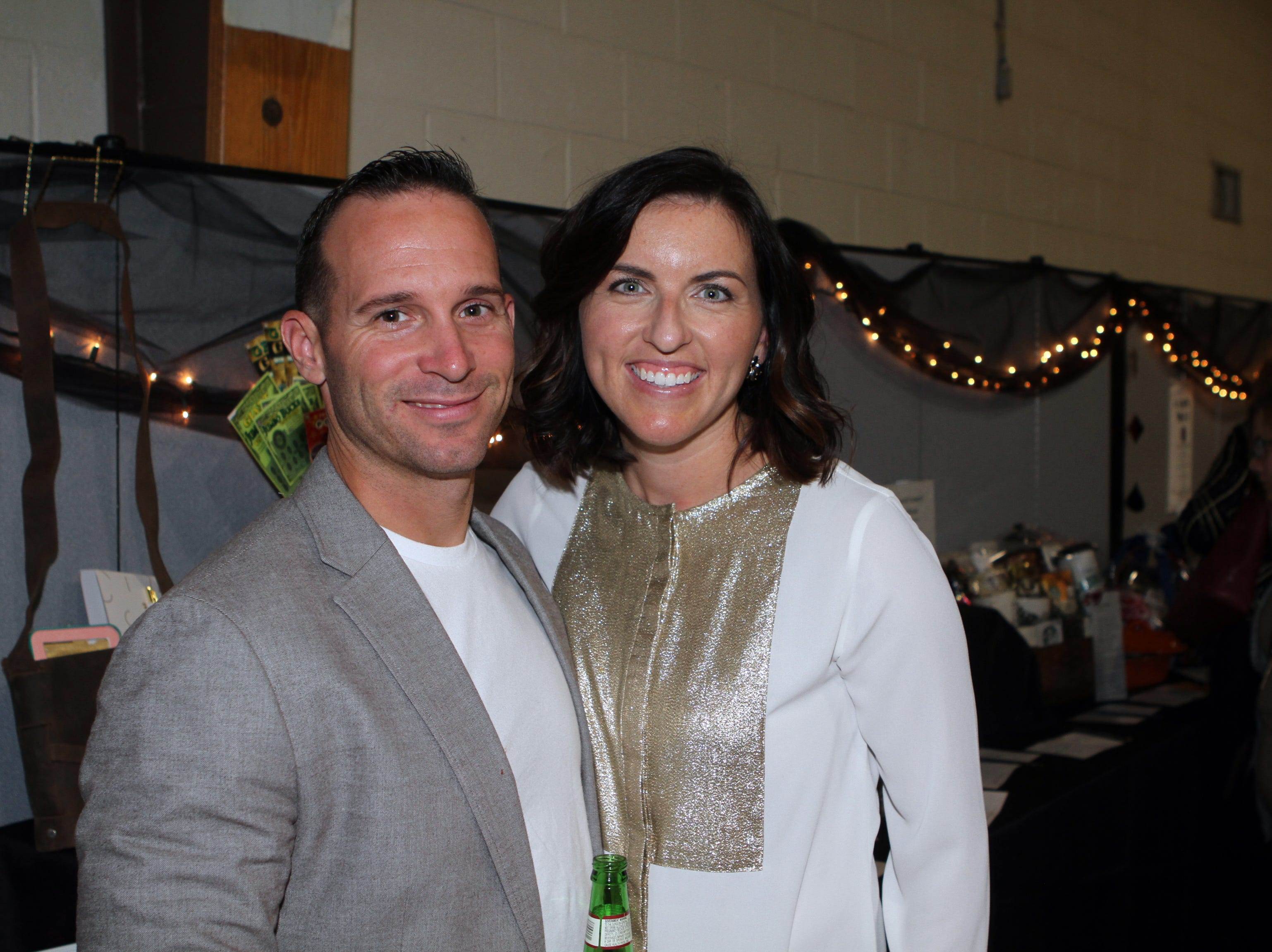 Tim and Cassie Gibbons at Casino Night at Immaculate Conception School on Saturday, Nov. 3, 2018.