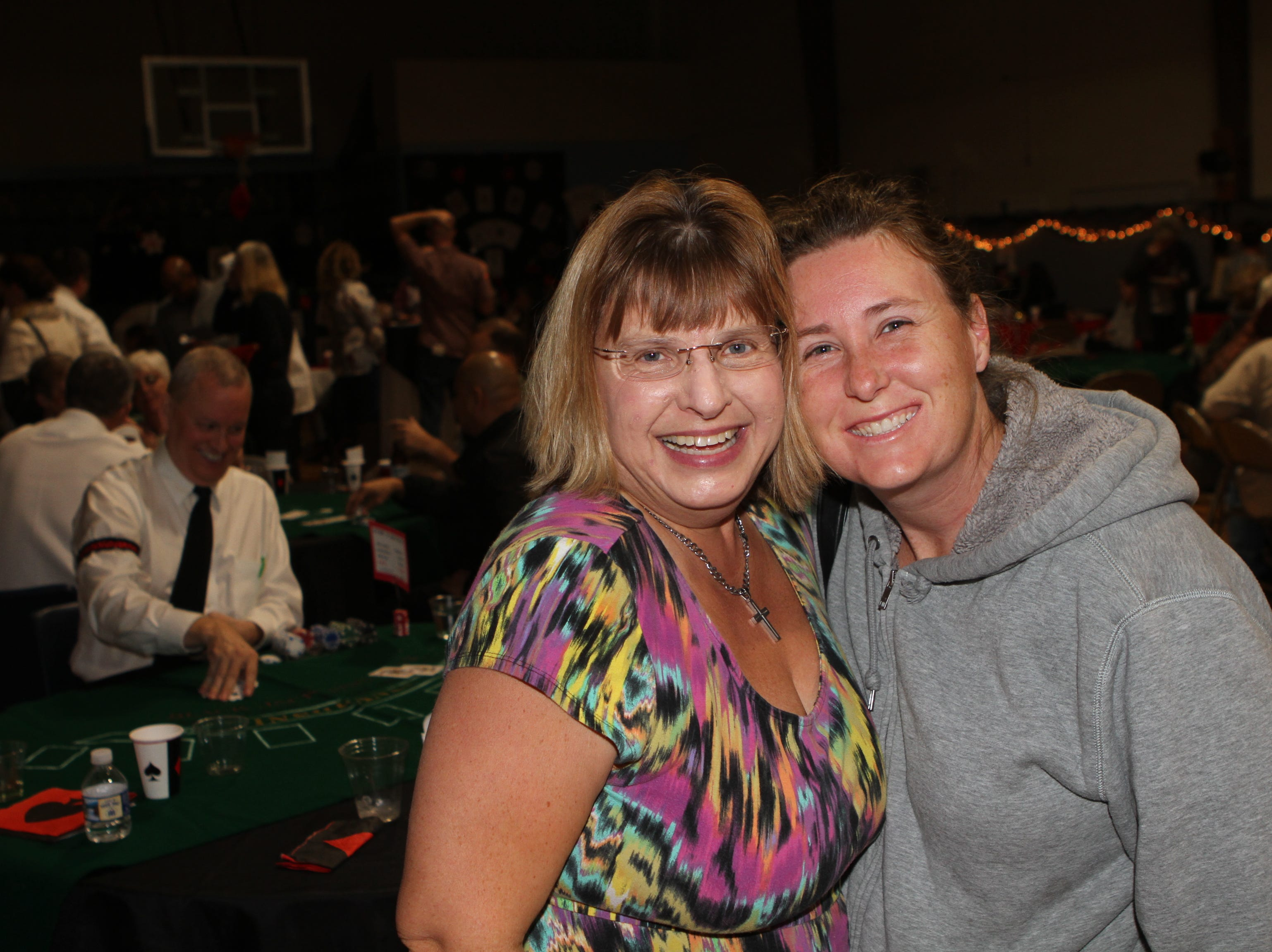 Christa Bunjor and Angela Graben at Casino Night at Immaculate Conception School on Saturday, Nov. 3, 2018.