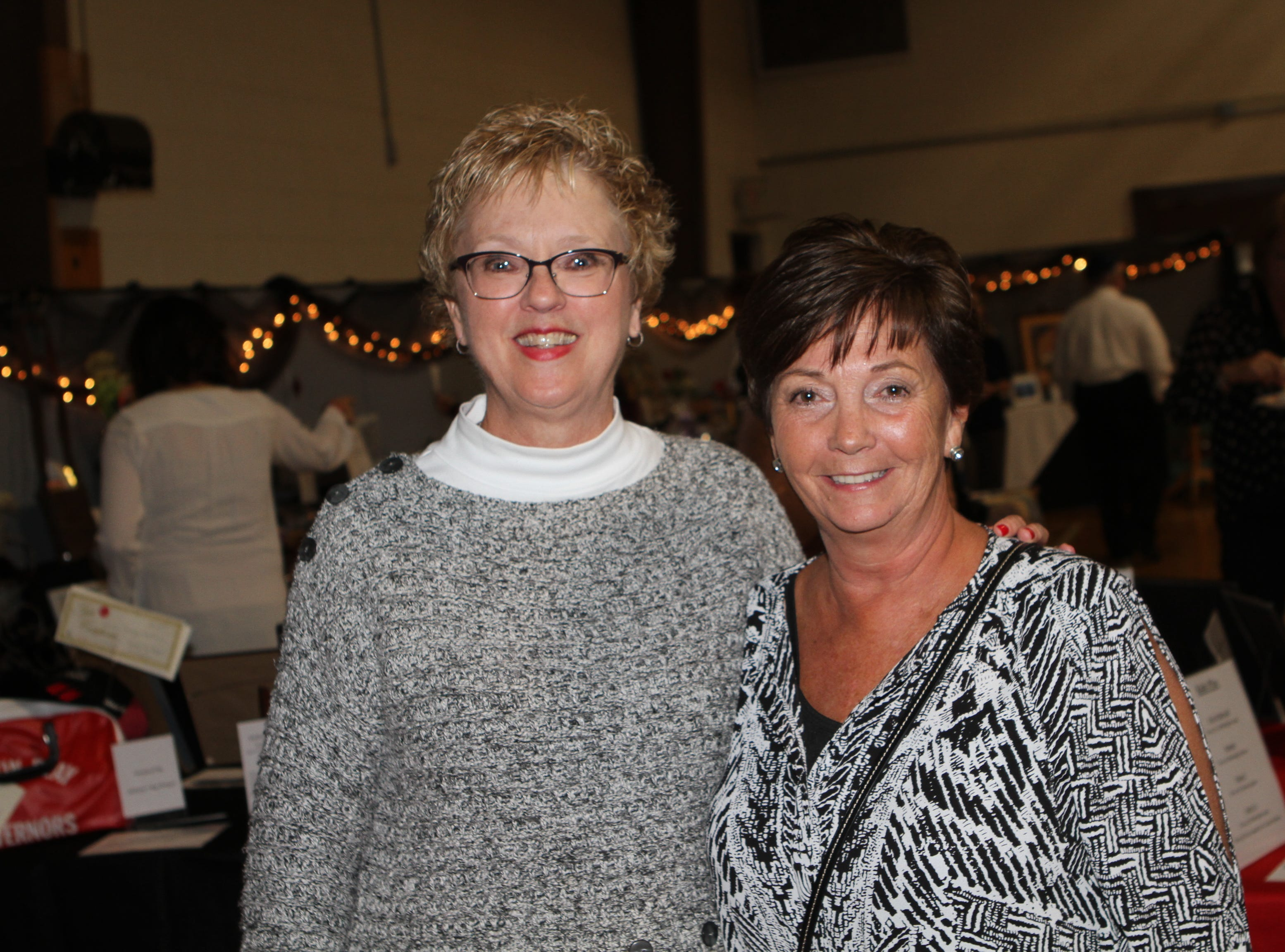 Maggie Kulback and Amy Donnellan at Casino Night at Immaculate Conception School on Saturday, Nov. 3, 2018.