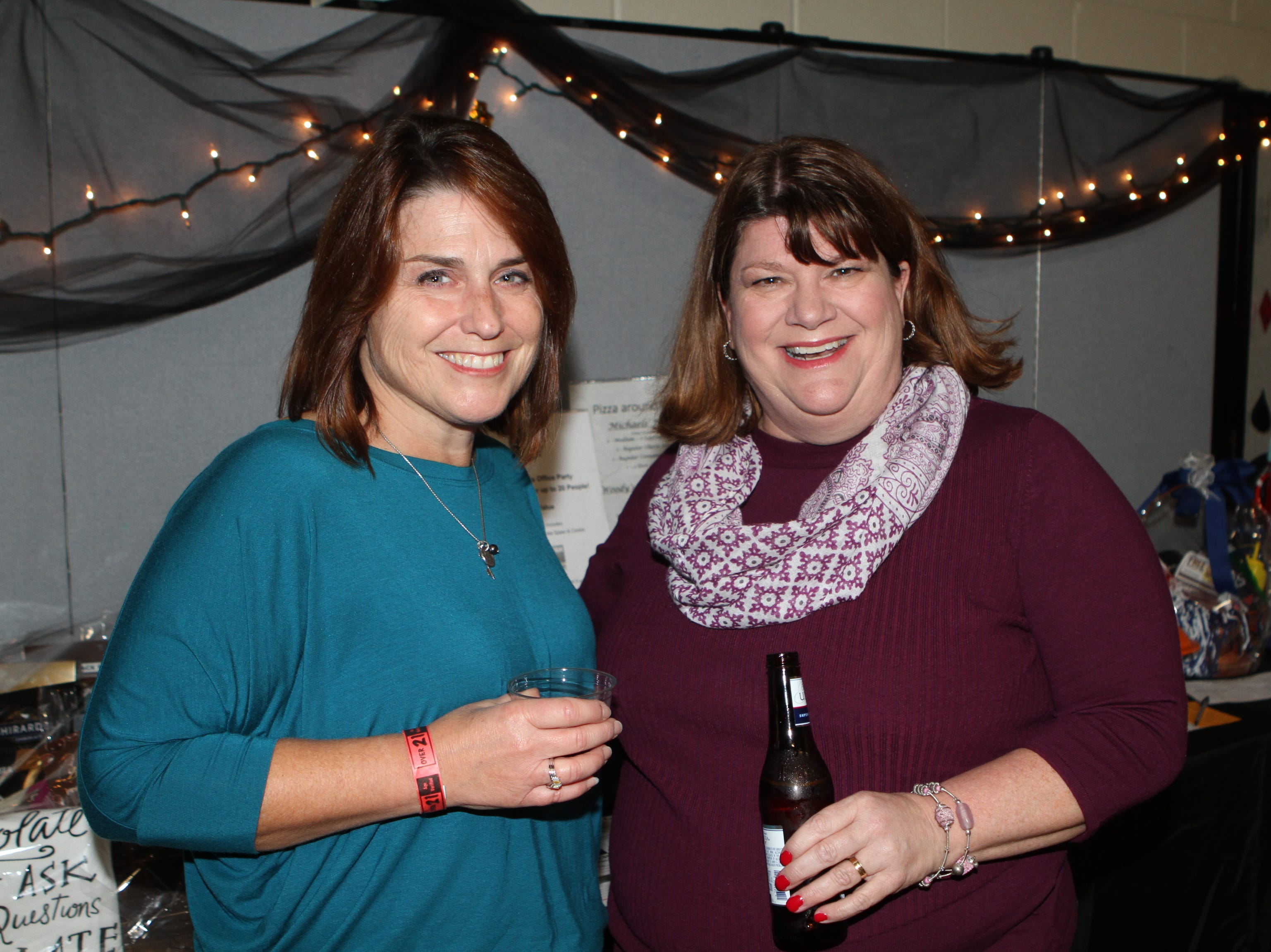 Michele Wieber and Jill Johnson at Casino Night at Immaculate Conception School on Saturday, Nov. 3, 2018.