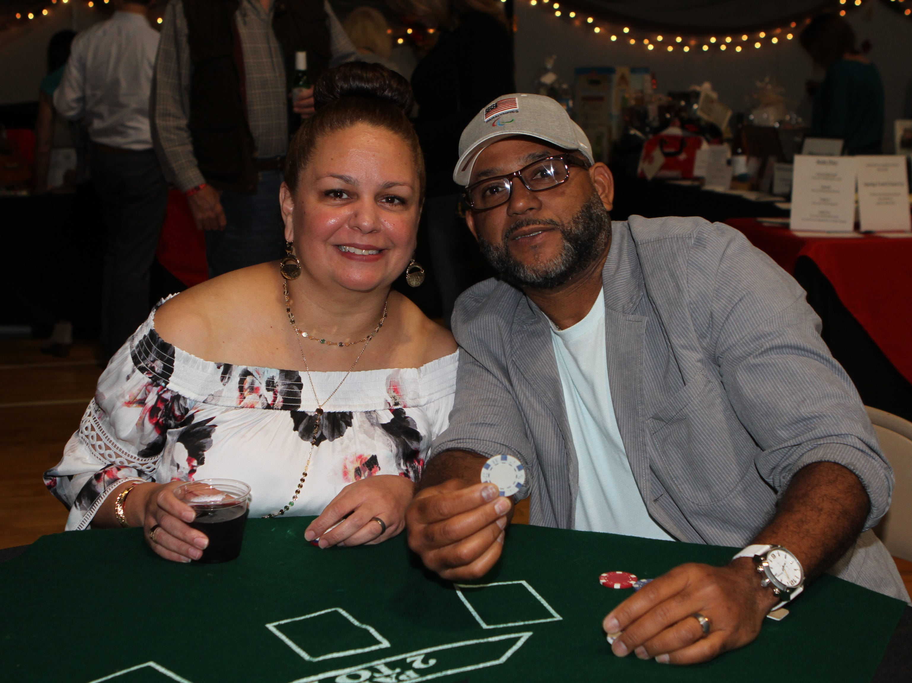 Carol and Robert Cala at Casino Night at Immaculate Conception School on Saturday, Nov. 3, 2018.