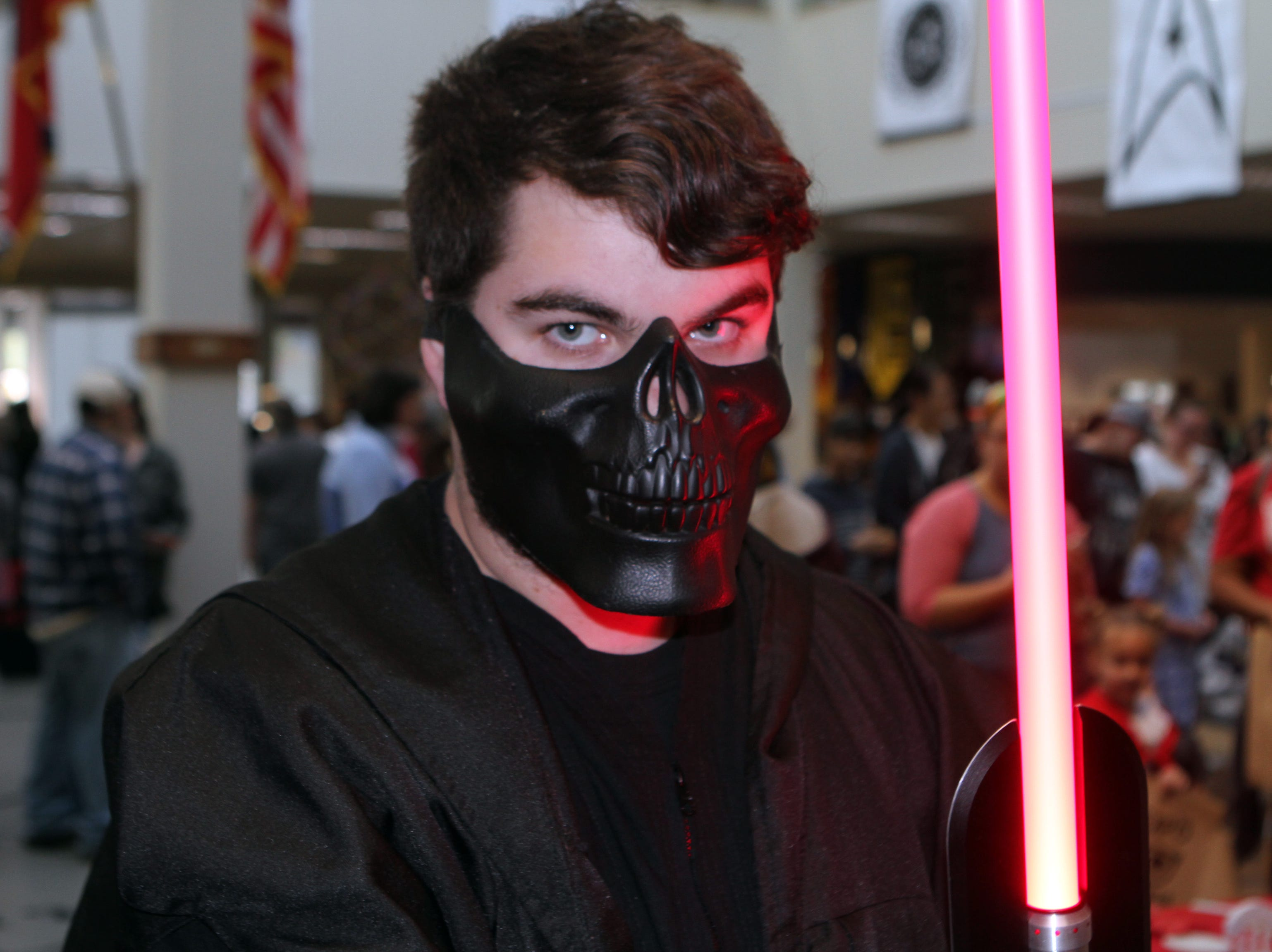 James Wallace at CMC Public Library's annual Sci-Fi Expo on Saturday, November 3, 2018.