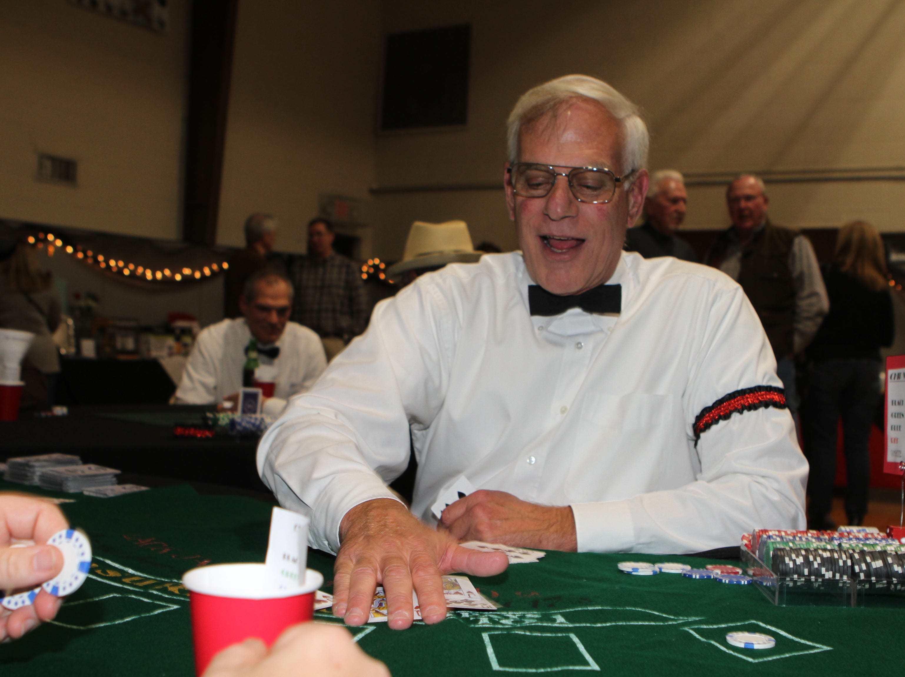 This year's Casino Night at Immaculate Conception School had hundreds enjoying hors d'oeuvres, casino games, music, dancing and a silent auction.