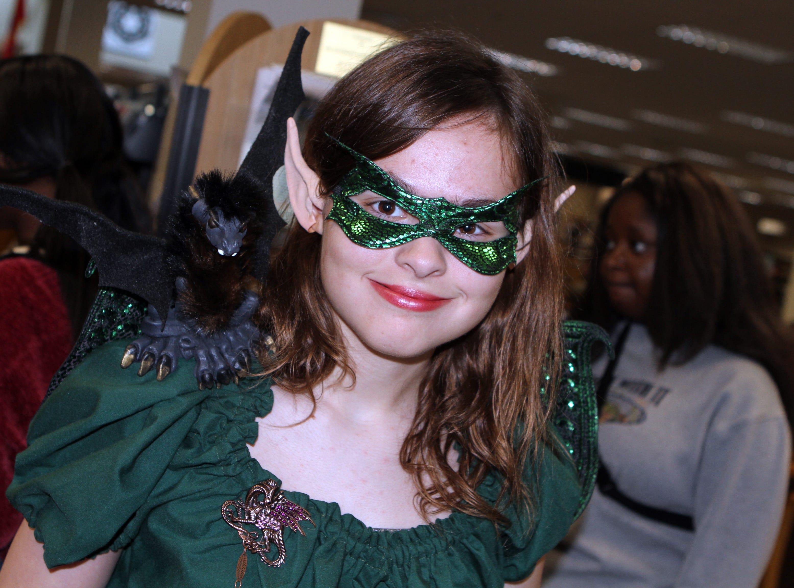 Nora Blake at CMC Public Library's annual Sci-Fi Expo on Saturday, November 3, 2018.