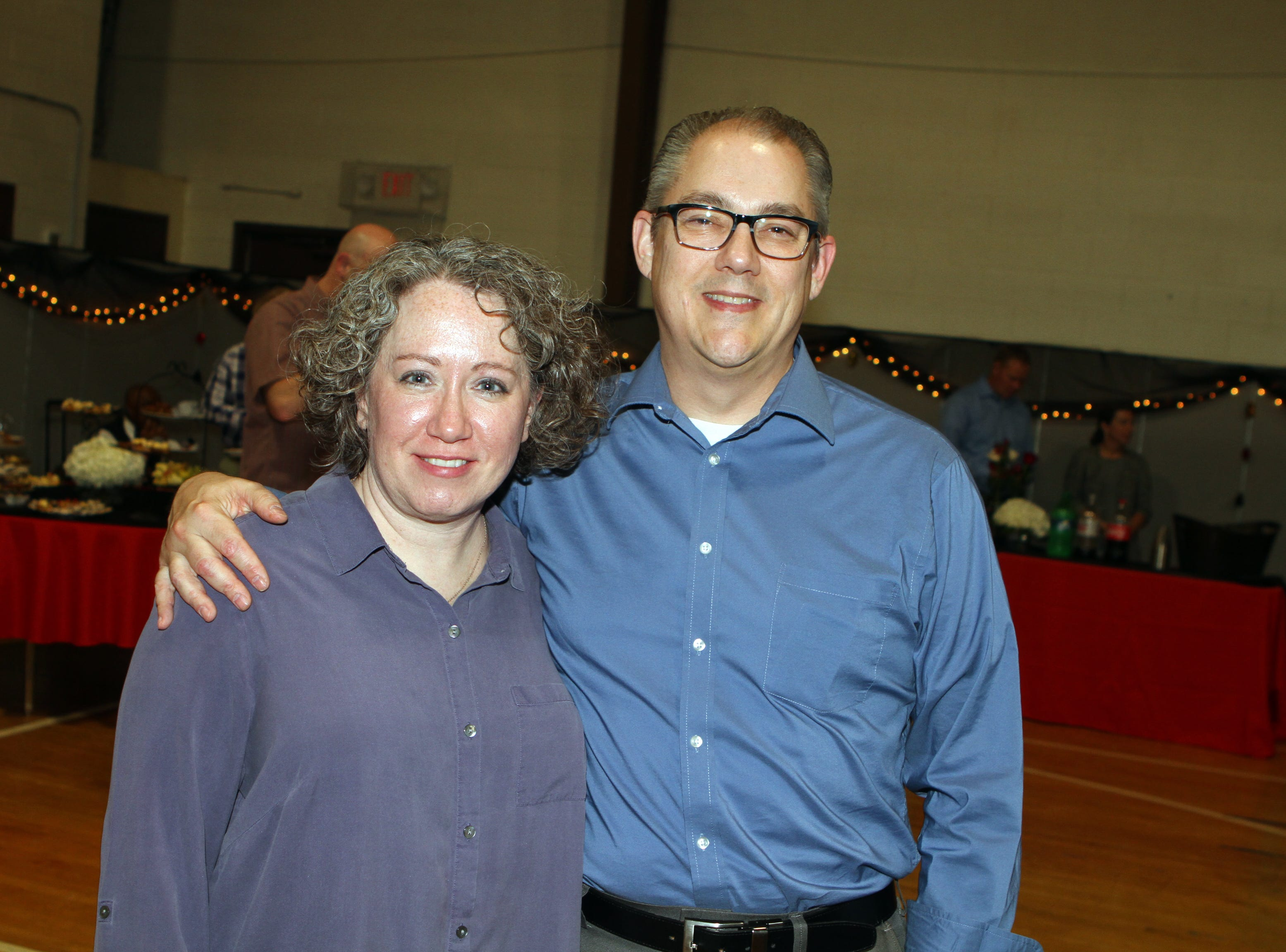 Stephanie and Chuck Stafford at Casino Night at Immaculate Conception School on Saturday, Nov. 3, 2018.