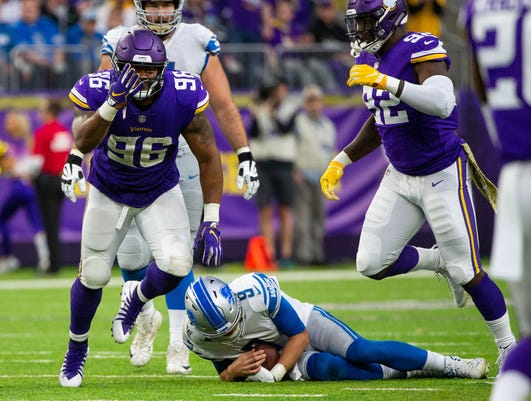 Nfl Detroit Lions At Minnesota Vikings