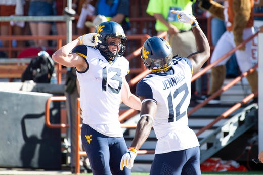 10. West Virginia (7-1) | Last game: Defeated Texas, 42-41 | Previous ranking: 10