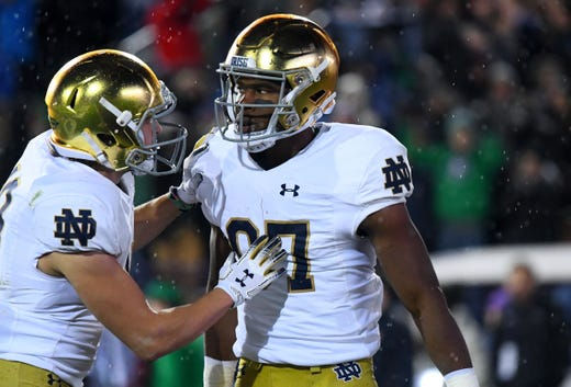 3. Notre Dame (9-0) | Last game: Defeated Northwestern, 31-21 | Previous ranking: 4