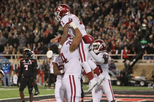 6. Oklahoma (8-1) | Last game: Defeated Texas Tech, 51-46 | Previous ranking: 7