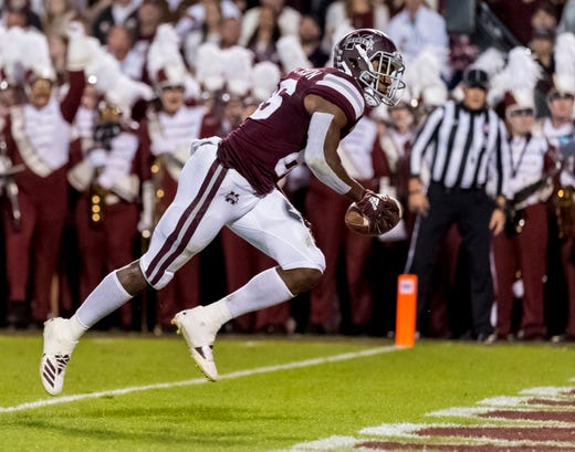 16. Mississippi State (6-3) | Last game: Defeated Louisiana Tech, 45-3 | Previous ranking: NR
