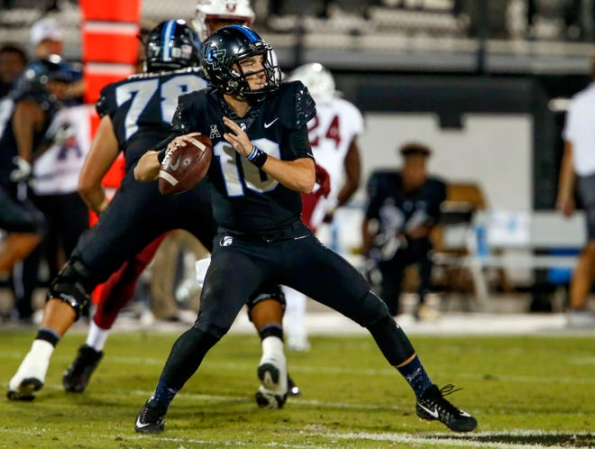 7. UCF (8-0) | Last game: Defeated Temple, 52-40 | Previous ranking: 8