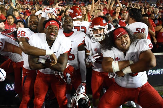 20. Fresno State (8-1) | Last game: Defeated UNLV, 48-3 | Previous ranking: NR
