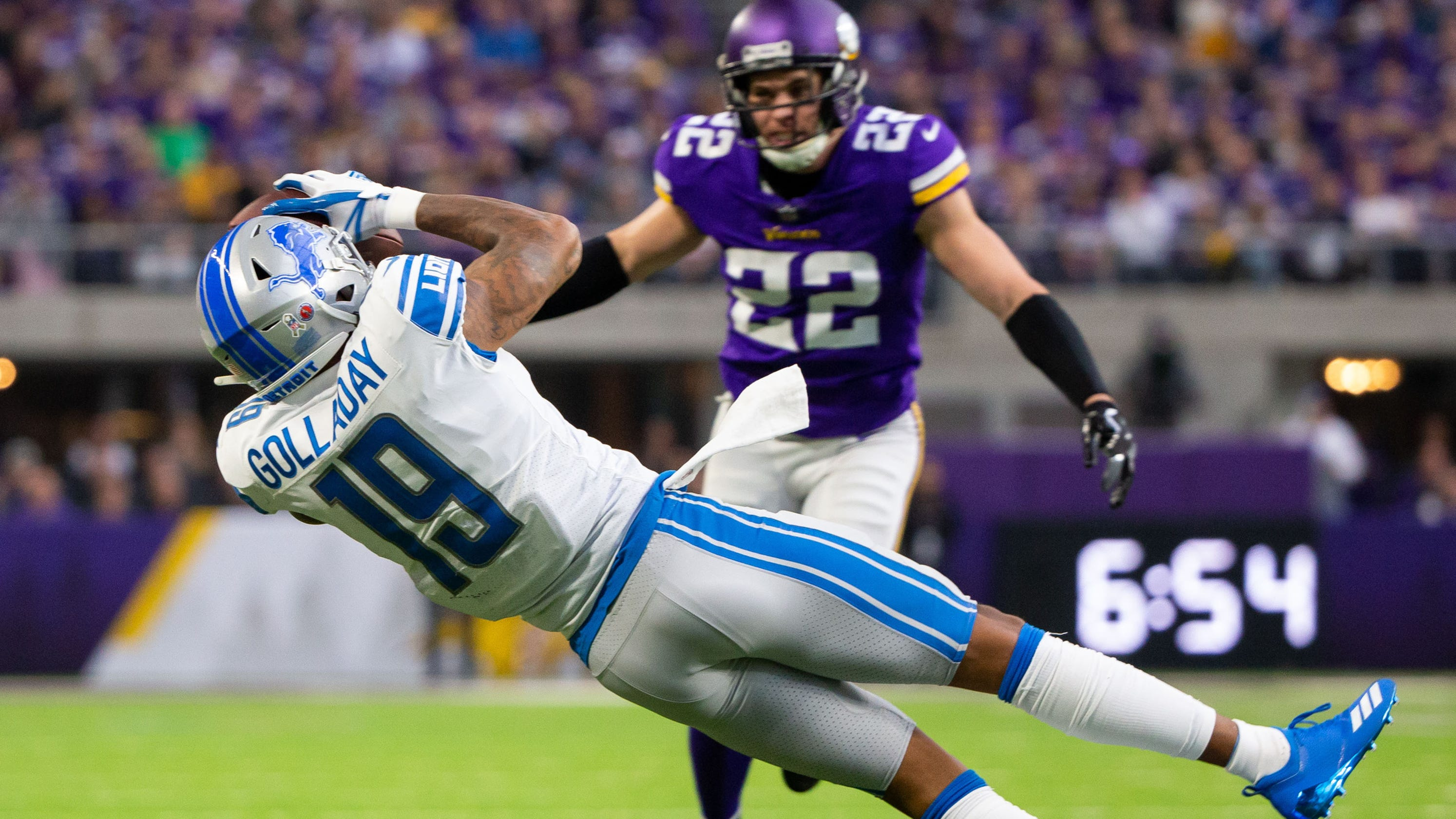 new arrivals a3316 9ce23 Detroit Lions WR Kenny Golladay: 'I want more catches'