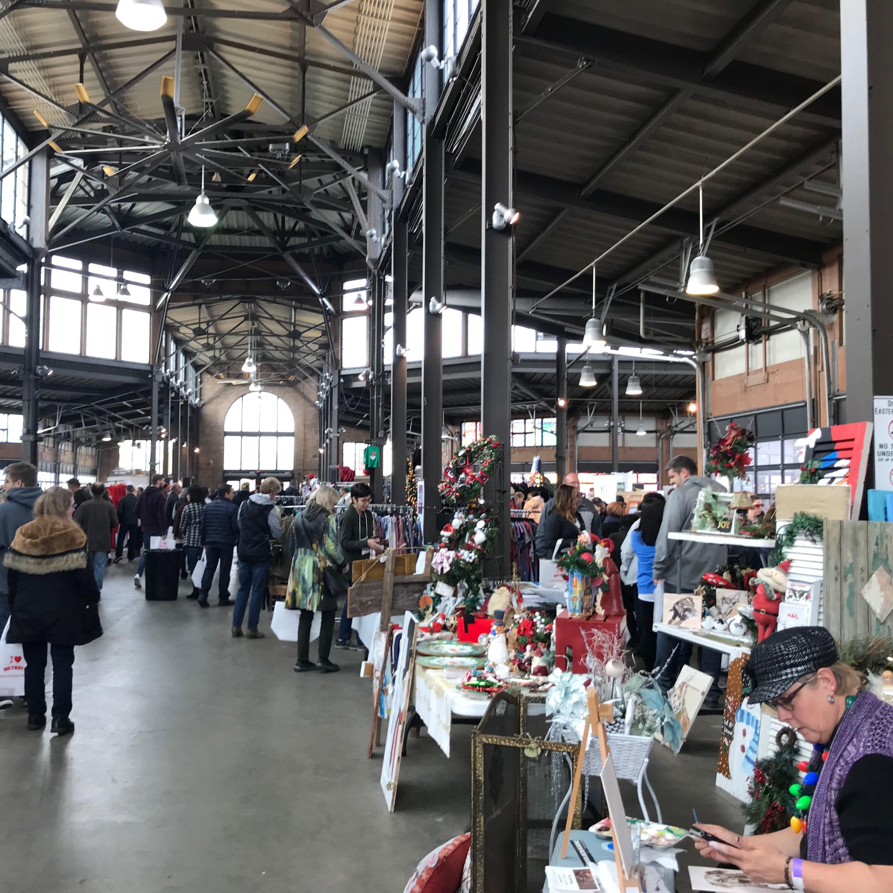 Detroit small businesses, entrepreneurs star of Eastern Market show