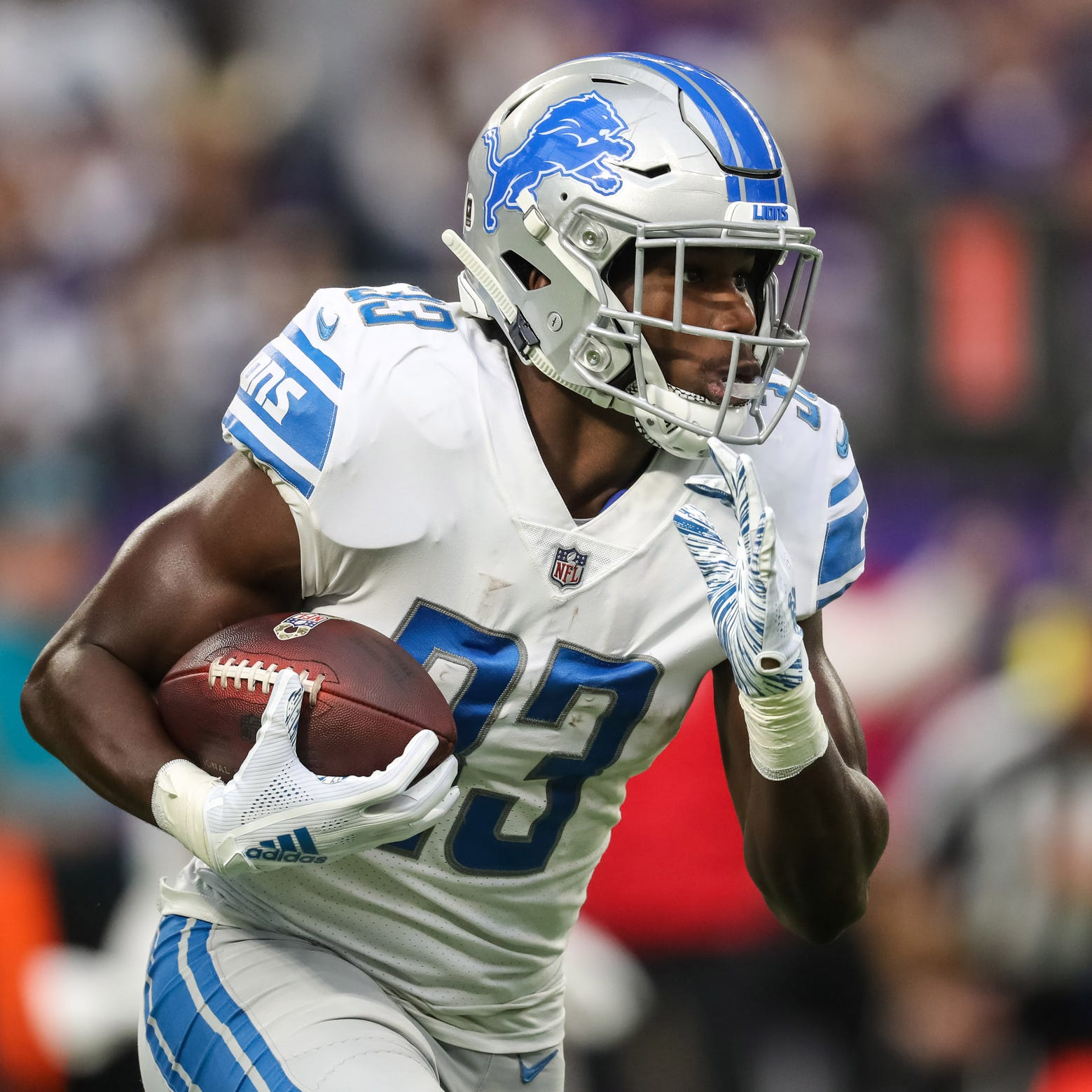 Kerryon Johnson 'excited' about Lions offense under Darrell Bevell