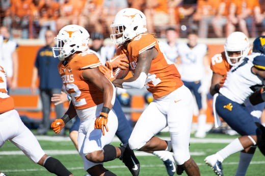 15. Texas (6-3) | Last game: Lost to West Virginia, 42-41 | Previous ranking: 12