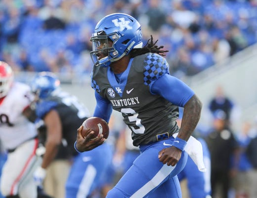 17. Kentucky (7-2) | Last game: Lost to Georgia, 34-17 | Previous ranking: 13