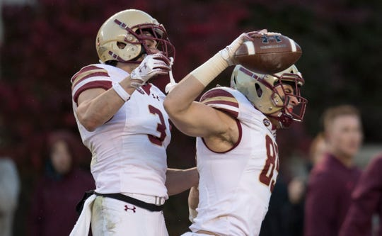 Boston College, at 7-2, is off to its best start in 11 years.